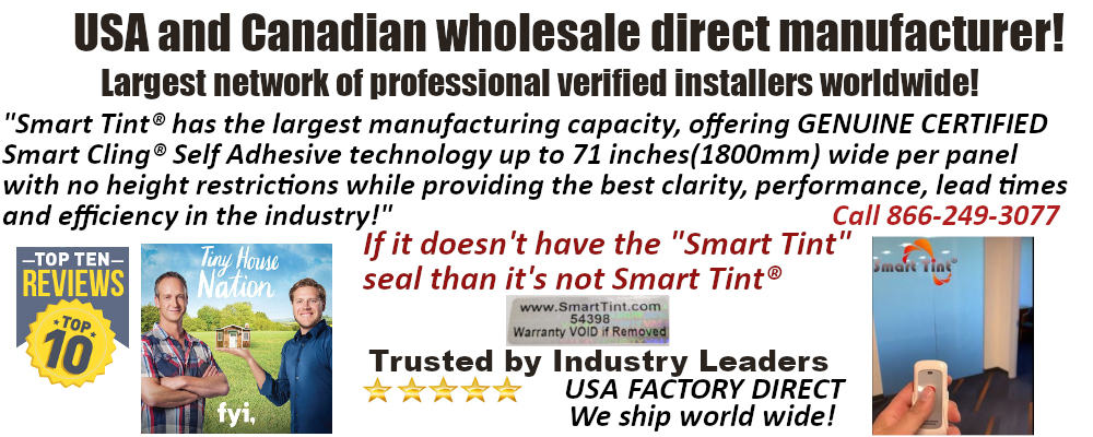 smart tint USA and Canada direct