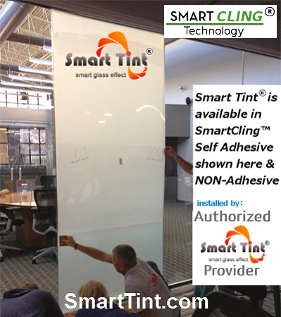 smart glass electric window film